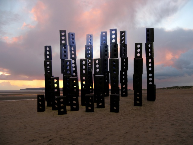 Im02 Model of Monument to Desert and Sea No 6